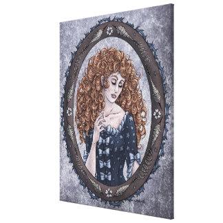 """Fairy Tale """"Briar Rose"""" Fantasy Art Canvas Print"""