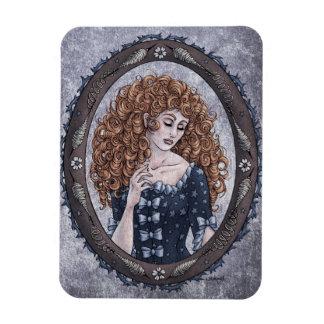 Fairy Tale Briar Rose Fantasy Art Magnet 1