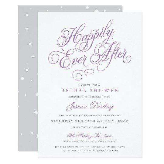 Fairy Tale Bridal Shower Invitation