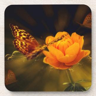 Fairy Tale Butterfly Beverage Coaster