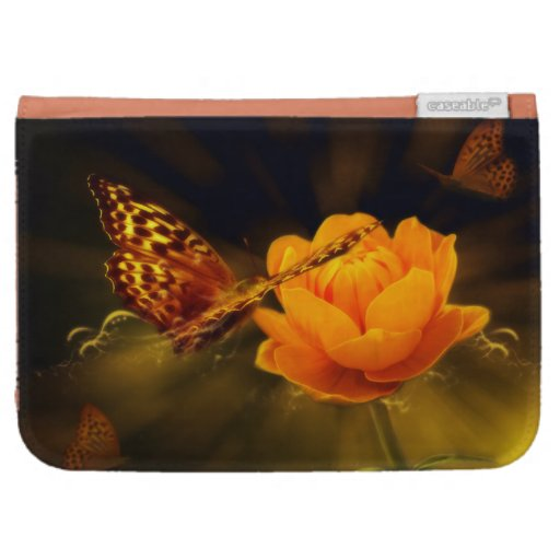 Fairy Tale Butterfly Kindle Case