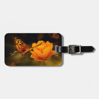 Fairy Tale Butterfly Luggage Tag