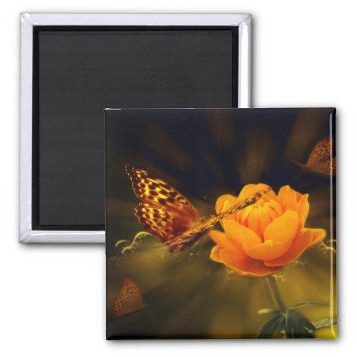 Fairy Tale Butterfly Magnet