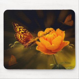 Fairy Tale Butterfly Mouse Pad
