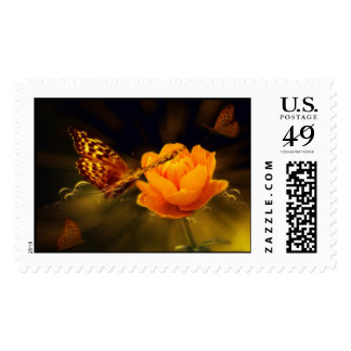 Fairy Tale Butterfly Postage Stamps