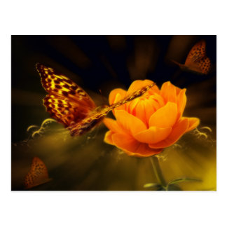 Fairy Tale Butterfly Postcard