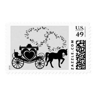 Fairy Tale Carriage Silver Postage