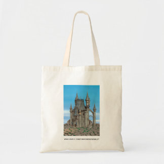 Fairy Tale Castle Tote Bags