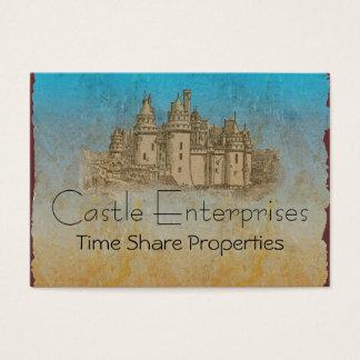 Fairy Tale Castle Business Cards