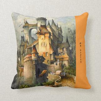 Fairy Tale Castle Decorative Throw Pillow