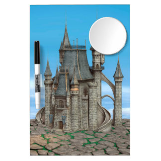 Fairy Tale Castle Dry Erase Board With Mirror