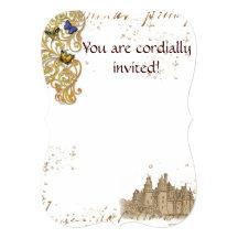 Fairy Tale Castle Invitation