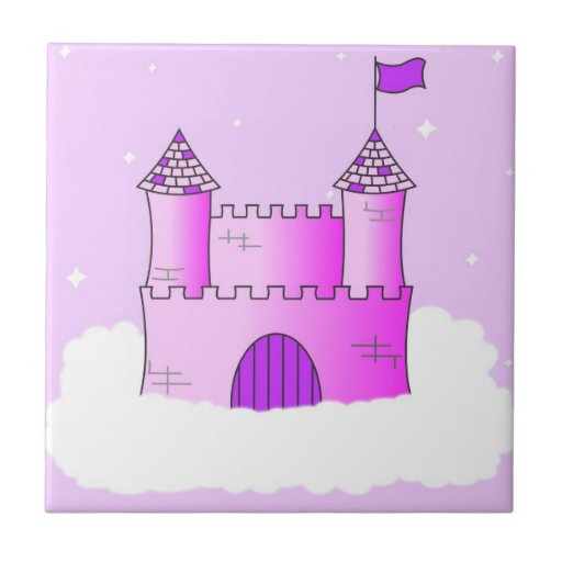 Fairy Tale Castle - Pink and Purple Tile
