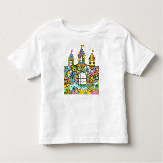 Fairy tale castle toddler t-shirt
