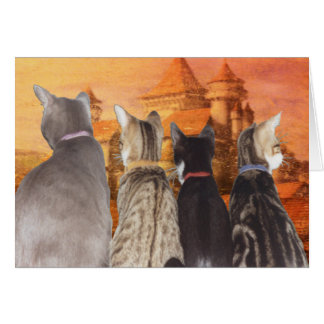 FAIRY TALE CATS Note Card