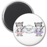 Fairy Tale Cats Refrigerator Magnet