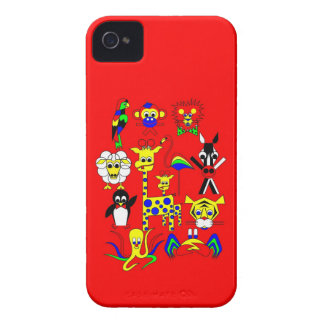 Fairy Tale Characters for a company iPhone 4 Cover