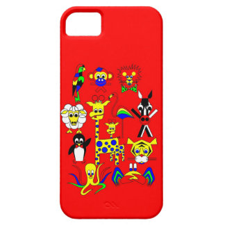 Fairy Tale Characters for a company iPhone SE/5/5s Case