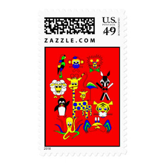 Fairy Tale Characters Postage