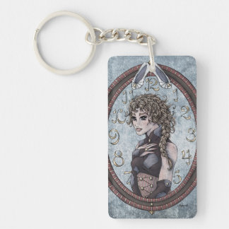 "Fairy Tale ""Cinderella"" Fantasy Art Keychain #2"
