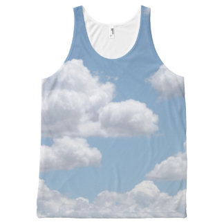 Fairy Tale Clouds All-Over-Print Tank Top