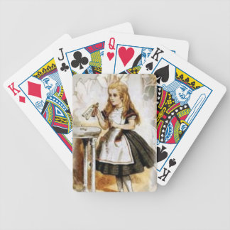 Fairy Tale Collection:  Alice in Wonderland Bicycle Playing Cards