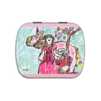 fairy tale elves jelly belly candy tin
