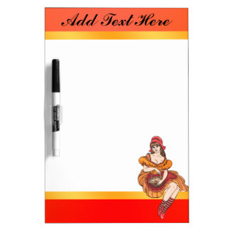 Fairy Tale Farmers Daughter Dry Erase Board