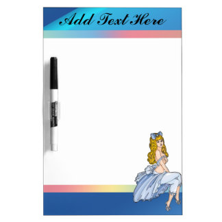 Fairy Tale Female Dry Erase Board