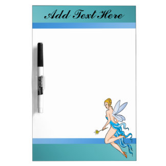 Fairy Tale Flying Fairie Dry Erase Board