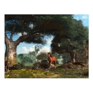 Fairy Tale Forest Postcard