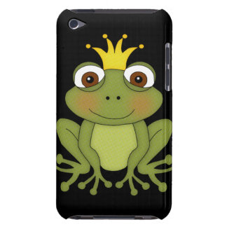 Fairy Tale Frog Prince with Crown Barely There iPod Cover