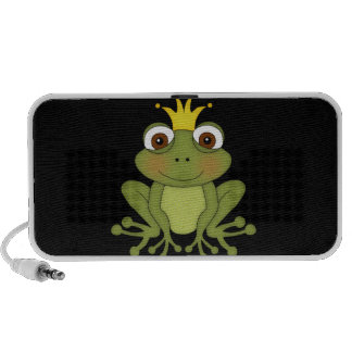 Fairy Tale Frog Prince with Crown PC Speakers
