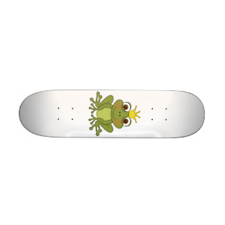 Fairy Tale Frog Prince with Crown Skate Board Decks