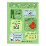 Fairy Tale Gift Shoppe Postcard