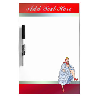 Fairy Tale Girl Dry Erase Board
