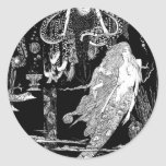 Fairy Tale - Illustration 6 Classic Round Sticker