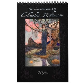 Fairy-Tale Illustrations by Charles Robinson Calendar