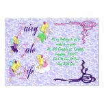 """Fairy Tale Life 5"""" X 7"""" Invitation Card"""