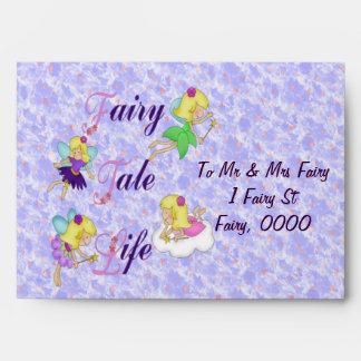 Fairy Tale Life Envelope
