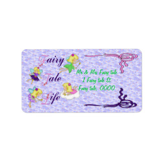 Fairy Tale Life Personalized Address Label