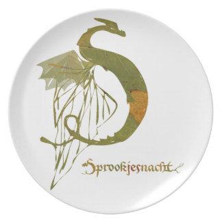 fairy tale night chalkboard logo colour plate