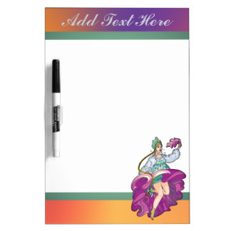 Fairy Tale Peasant Girl Dry Erase Board