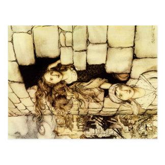 Fairy tale postcard