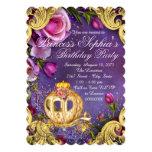Fairy Tale Princess Birthday Party 5x7 Paper Invitation Card