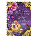 Fairy Tale Princess Birthday Party 5x7 Paper Invitation Card