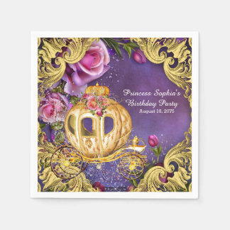 Fairy Tale Princess Birthday Party Napkin