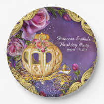 Fairy Tale Princess Birthday Party Paper Plate