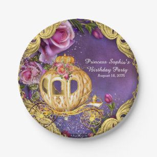 Fairy Tale Princess Birthday Party Paper Plate  sc 1 st  Zazzle & Fairy Princess Plates | Zazzle