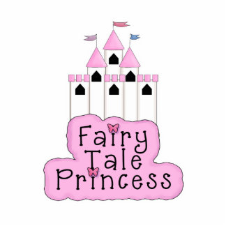 Fairy Tale Princess Castle Design Statuette